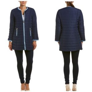 Sali to Sable- Quilted Puffer Jacket Coat